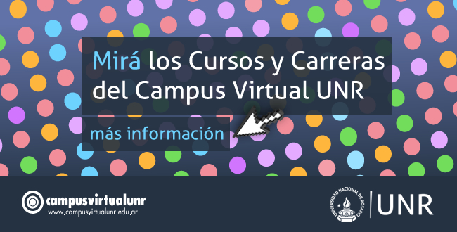 Cursos Campus Virtual UNR