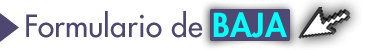 Formulario de Baja